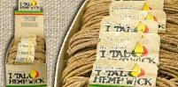 I-TAL HEMP WICK BOX OF 16 LARGE