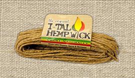 I-TAL HEMP WICK LARGE