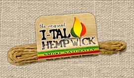 I-TAL HEMP WICK 5 PACK SMALL